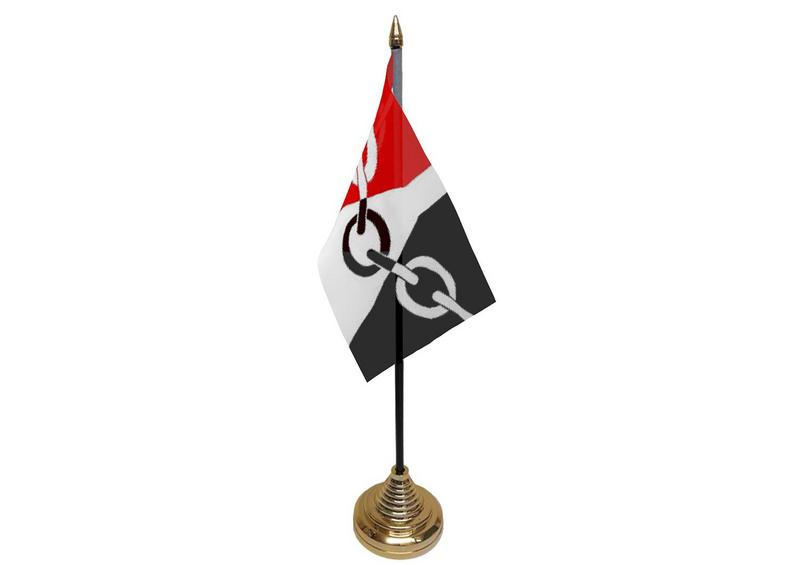 Black Country Hand Table or Waving Flag English County