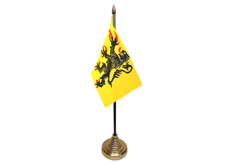 Nord-Pas-de-Calais Hand Table or Waving Flag French France Region