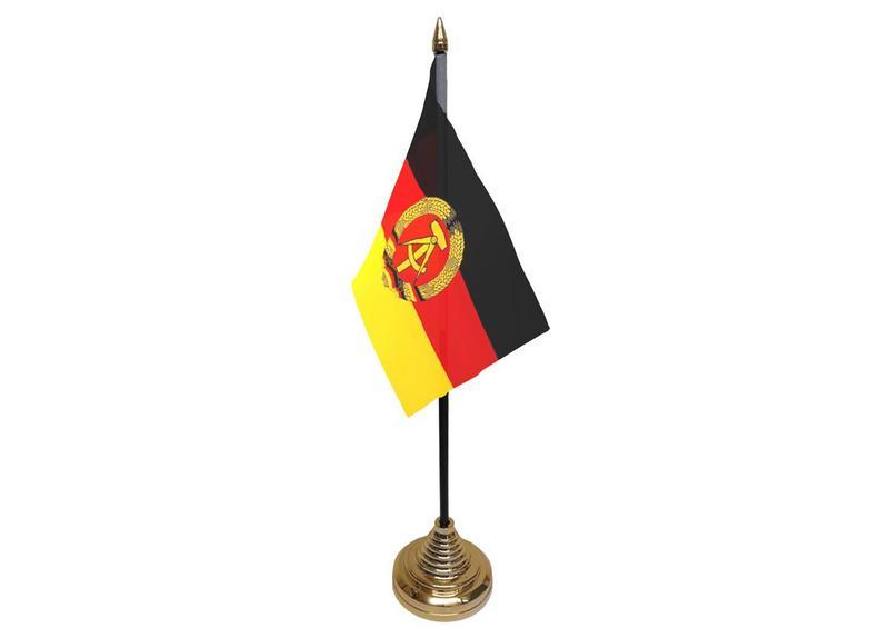 East German Hand Table or Waving Flag German State Germany Region