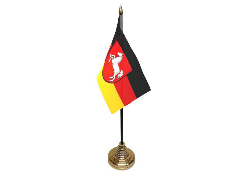 Lower Saxony Hand Table or Waving Flag German State Germany Region