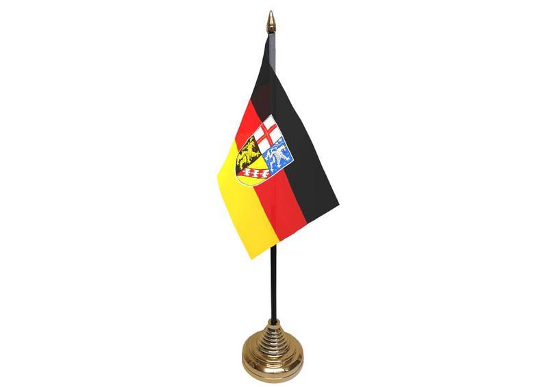 Saarland Hand Table or Waving Flag German State Germany Region