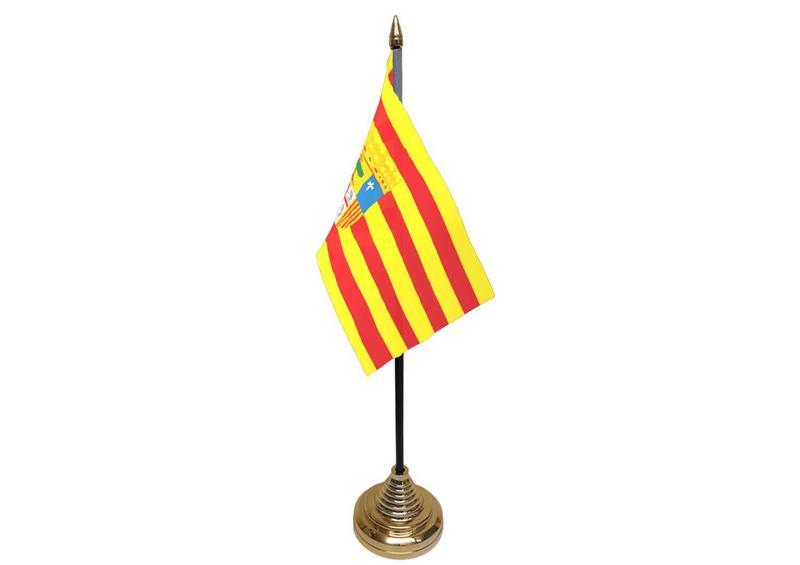 Aragon Hand Table or Waving Flag