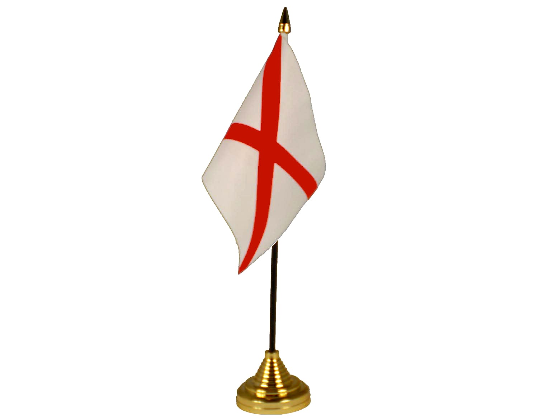 Alabama American State Hand Table or Waving Flag USA America