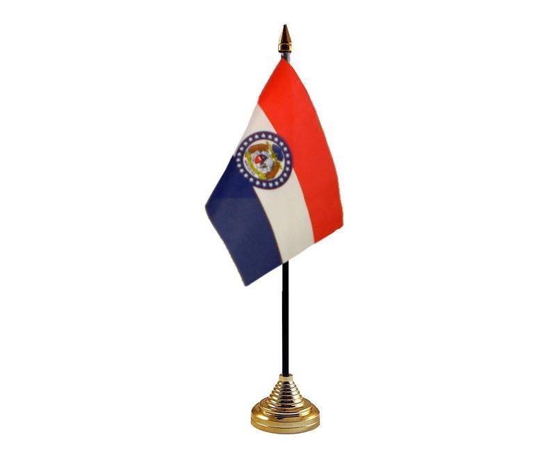 Missouri American State Hand Table or Waving Flag USA America