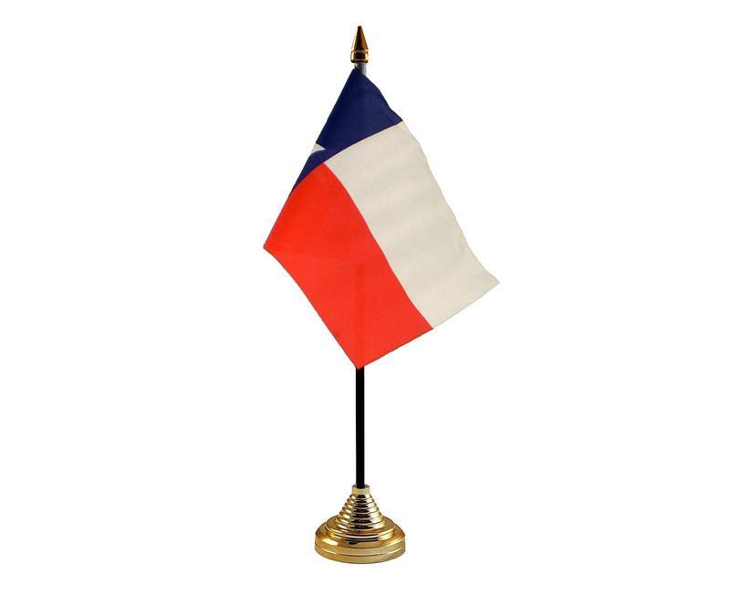 Texas American State Hand Table or Waving Flag USA America