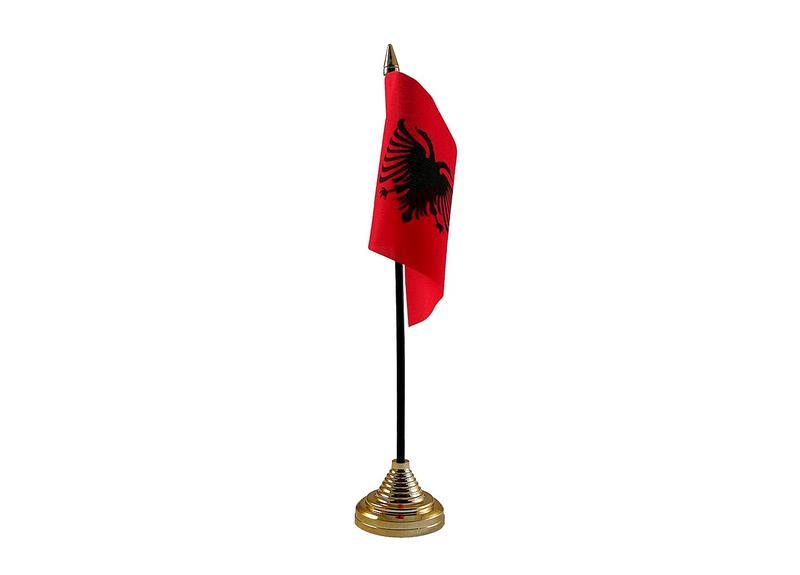 Albania Hand Table or Waving Flag Country