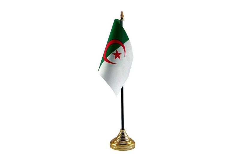 Algeria Hand Table or Waving Flag Country