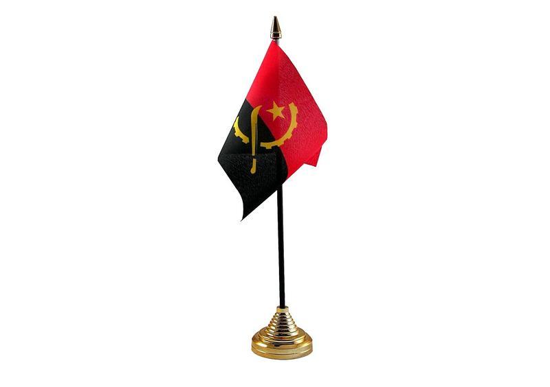 Angola Hand Table or Waving Flag Country
