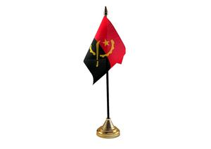 Angola Hand Table or Waving Flag Country