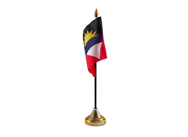 Antigua & Barbuda Hand Table or Waving Flag Country