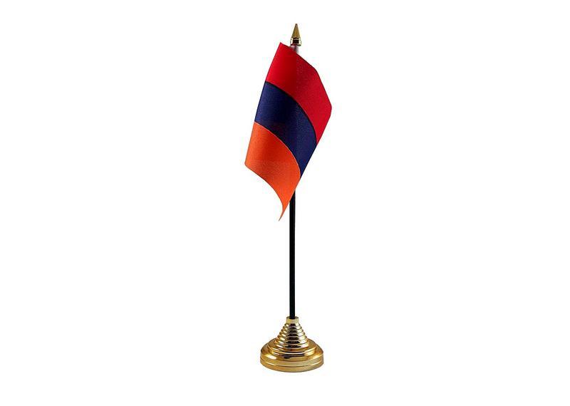 Armenia Hand Table or Waving Flag Country Armenian