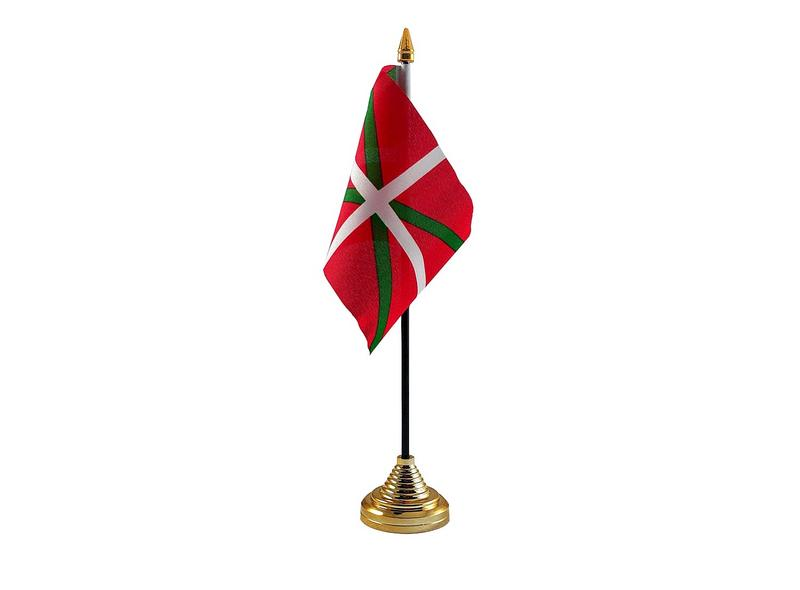 Basque Hand Table or Waving Flag Country