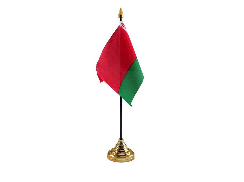 Belarus Hand Table or Waving Flag Country