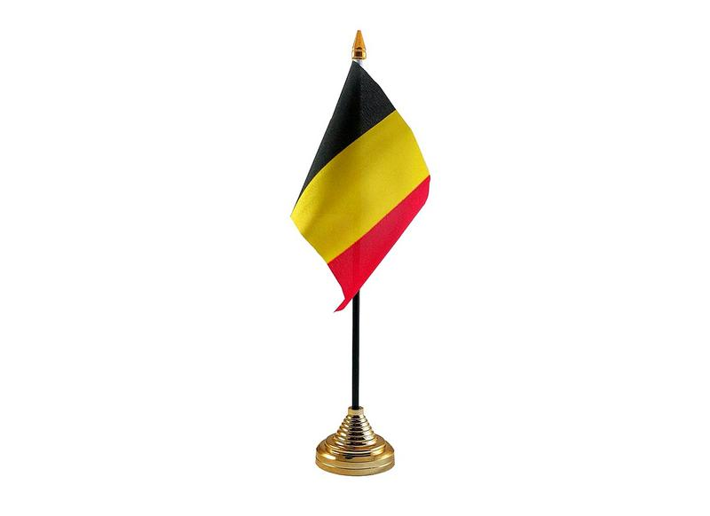 Belgium Hand Table or Waving Flag Country