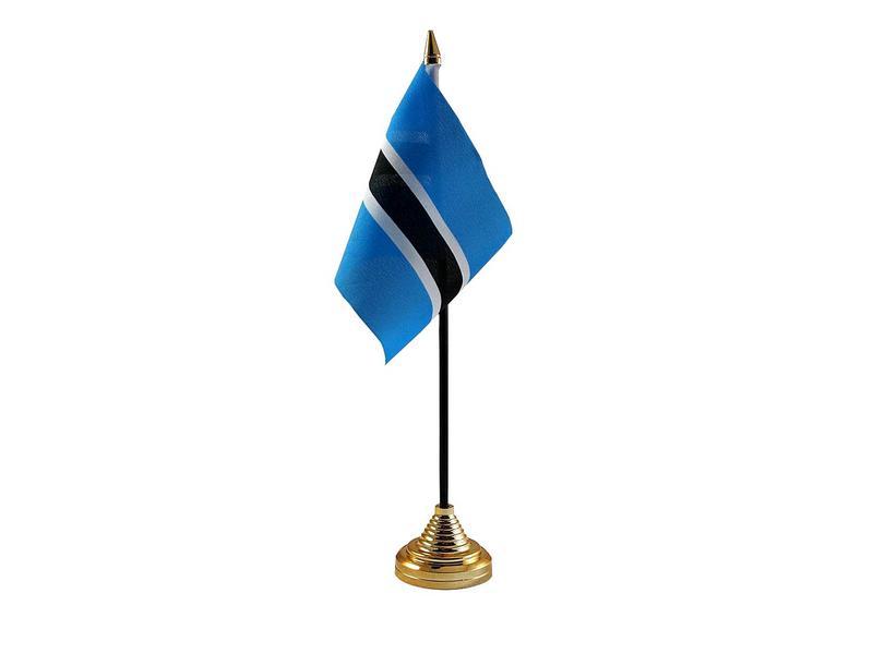 Botswana Hand Table or Waving Flag Country