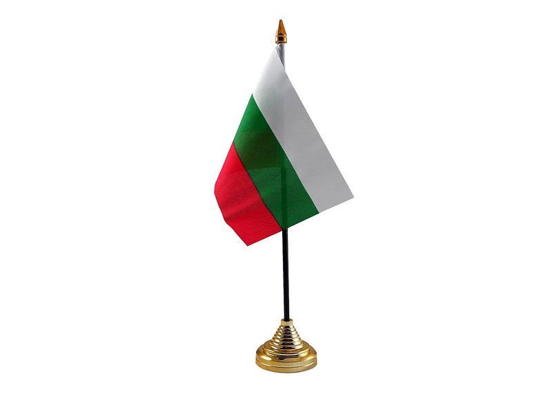 Bulgaria Hand Table or Waving Flag Country Bulgarian