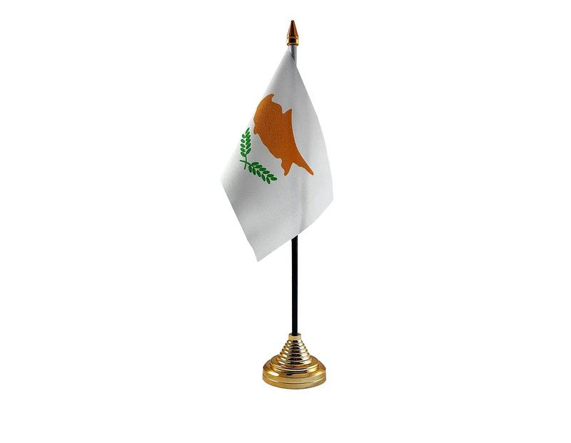 Cyprus Hand Table or Waving Flag Country