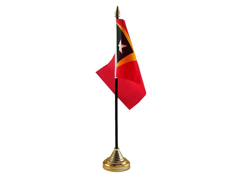 East Timor Hand Table or Waving Flag Country