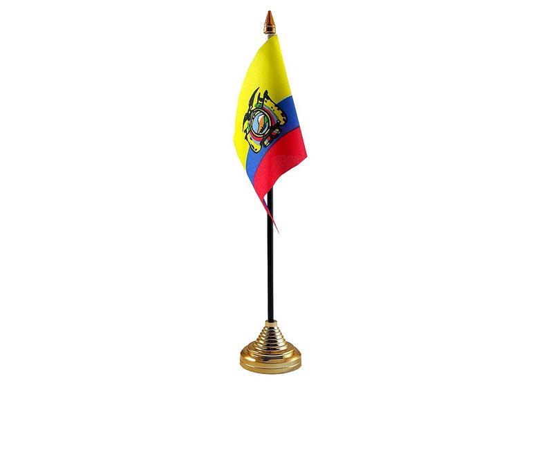 Ecuador Hand Table or Waving Flag Country