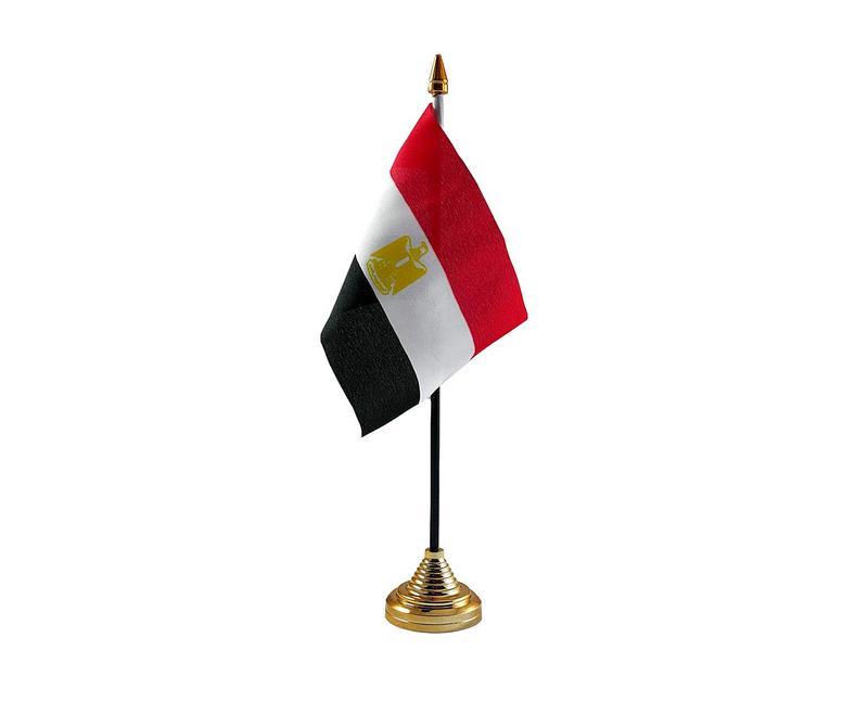Egypt Hand Table or Waving Flag Country Egyptian