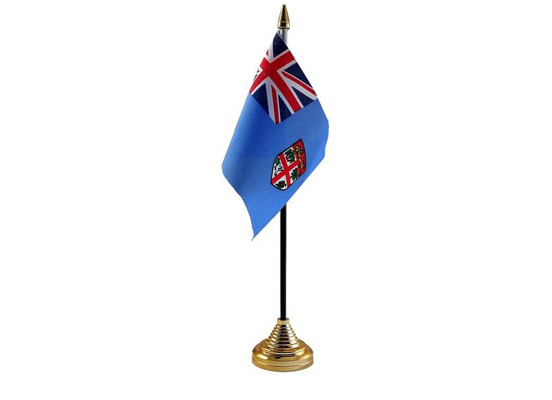 Fiji Hand Table or Waving Flag Country