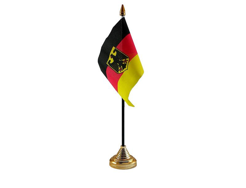 Germany Eagle Hand Table or Waving Flag Country German