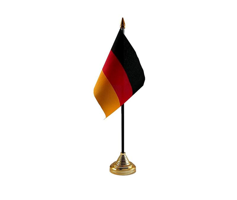 Germany Hand Table or Waving Flag Country German