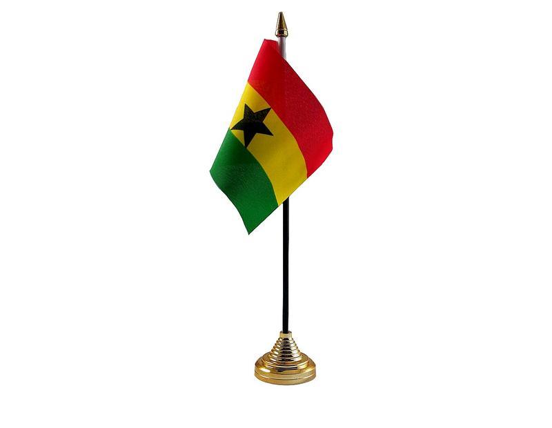 Ghana Hand Table or Waving Flag Country