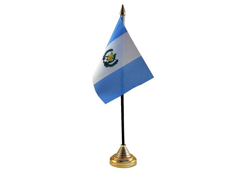 Guatemala Hand Table or Waving Flag Country