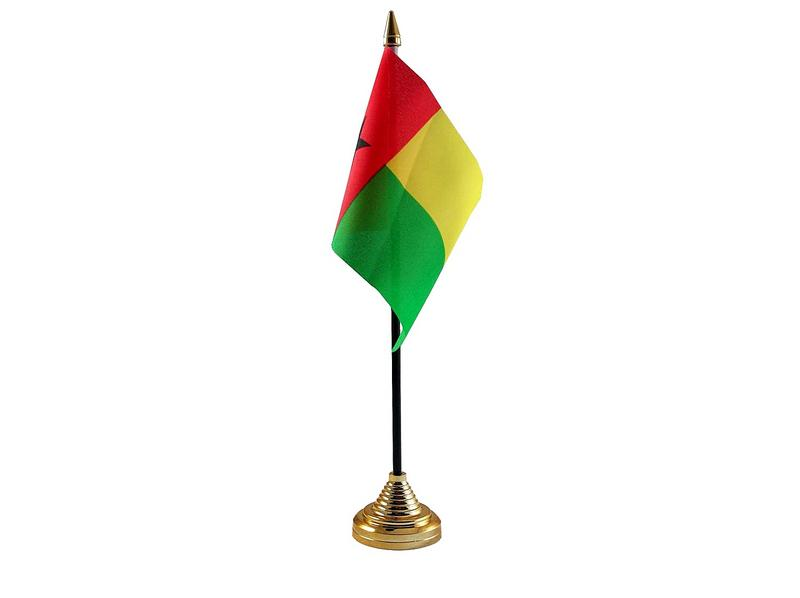 Guinea Bissau Hand Table or Waving Flag Country