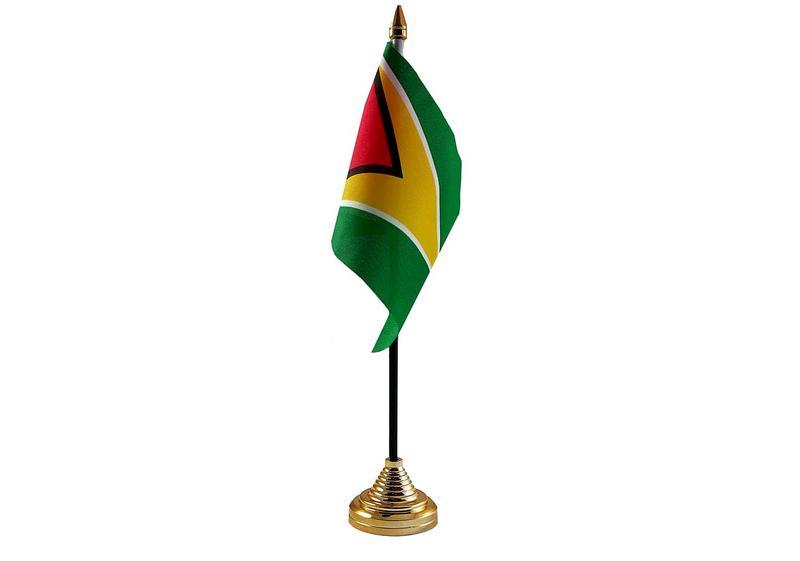 Guyana Hand Table or Waving Flag Country