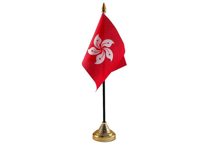 Hong Kong Hand Table or Waving Flag Country