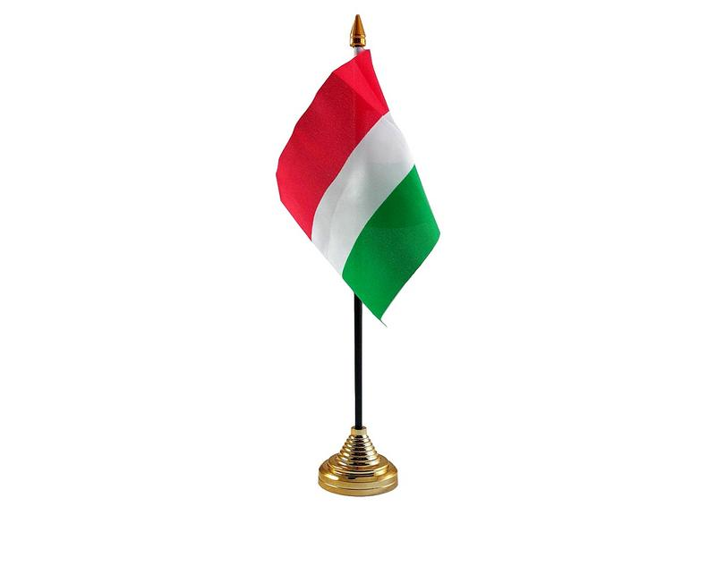 Hungary Hand Table or Waving Flag Country Hungarian