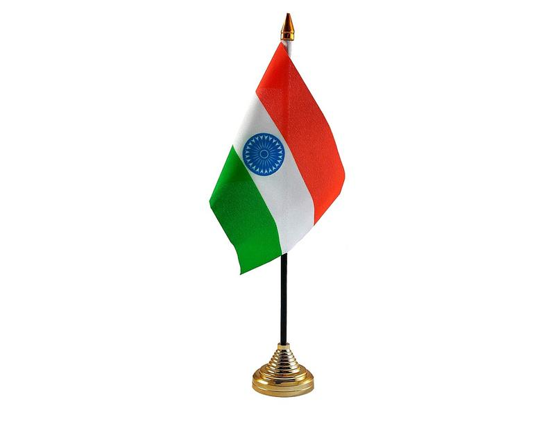 India Hand Table or Waving Flag Country