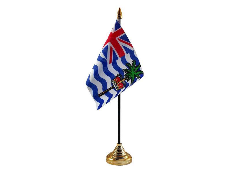 Indian Ocean Territoies Hand Table or Waving Flag Country