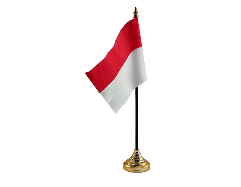 Indonesia Hand Table or Waving Flag Country