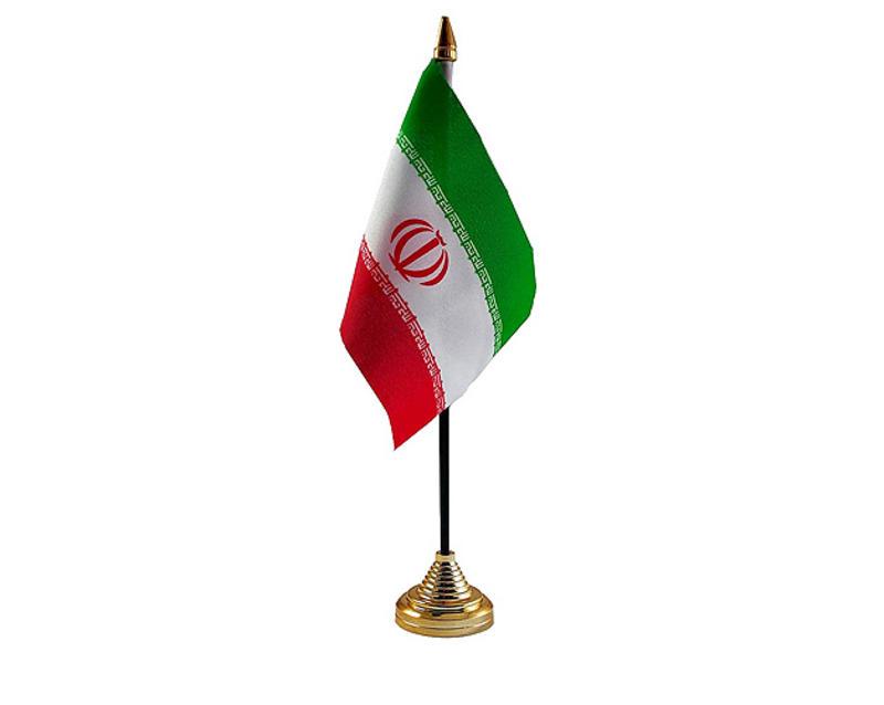 Iran New Hand Table or Waving Flag