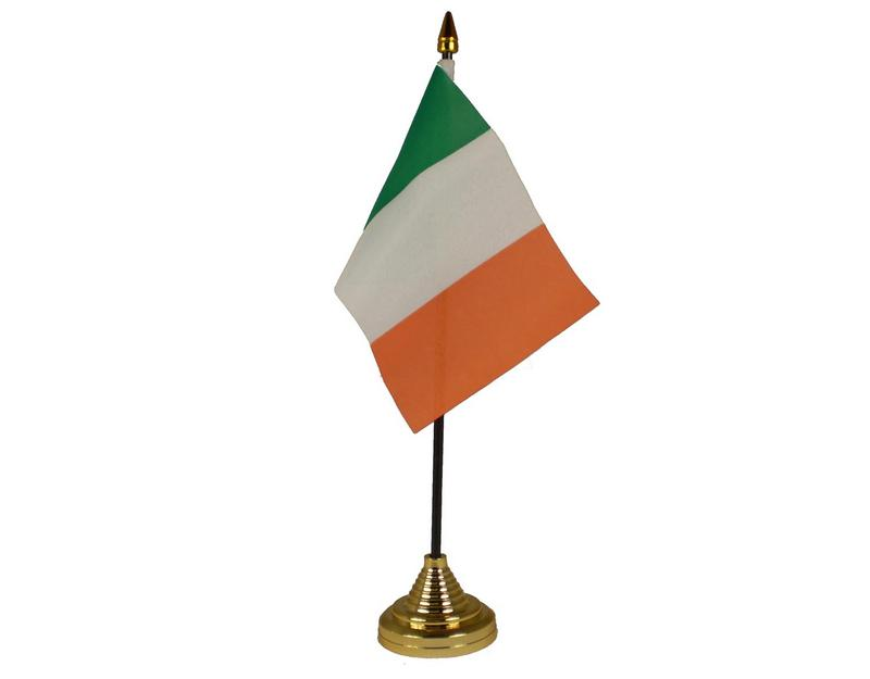 Ireland Hand Table or Waving Flag