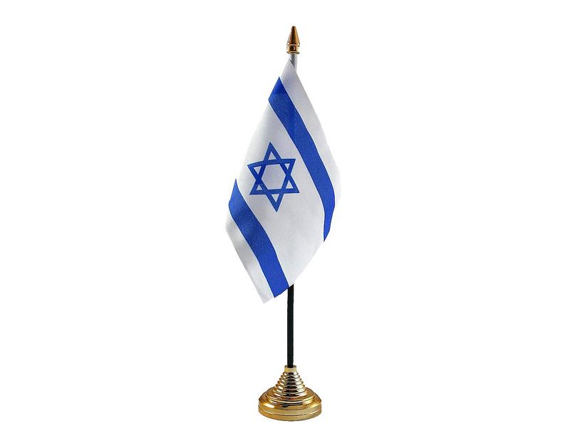 Isreal Hand Table or Waving Flag Country