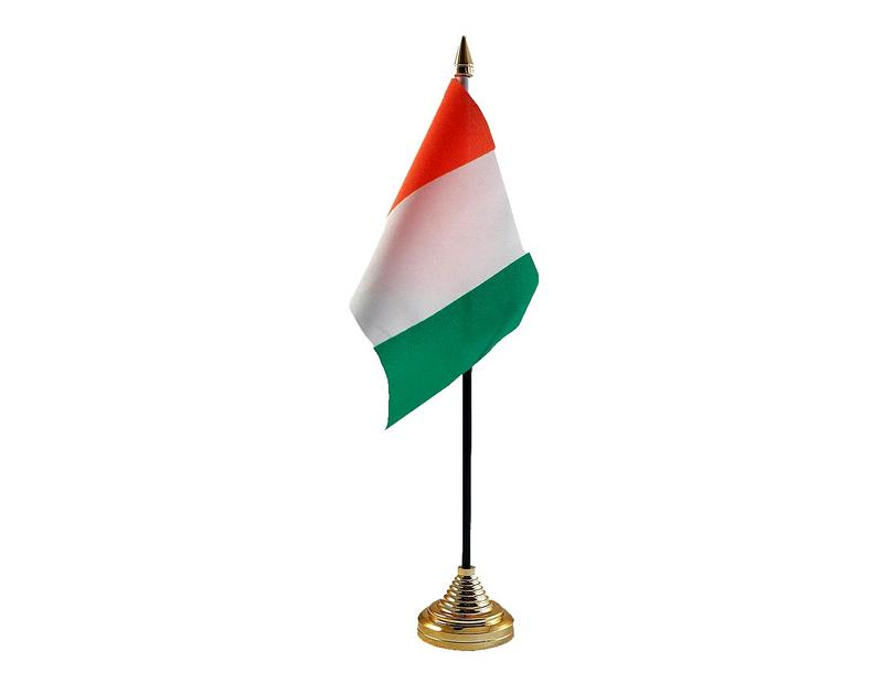 Ivory Coast Hand Table or Waving Flag Country
