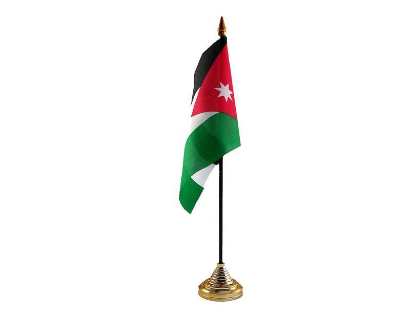 Jordan Hand Table or Waving Flag Country