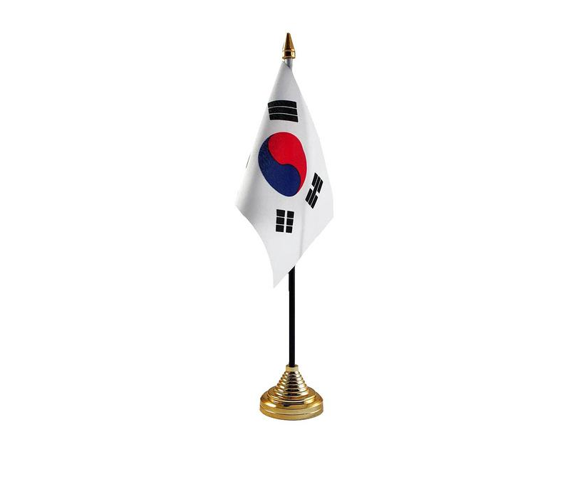 Korea South Hand Table or Waving Flag Country