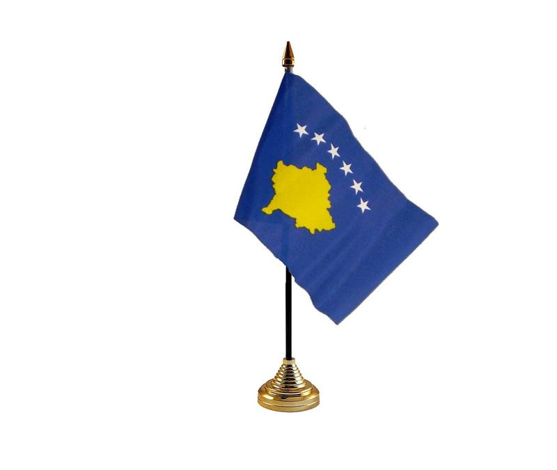 Kosovo Hand Table or Waving Flag Country