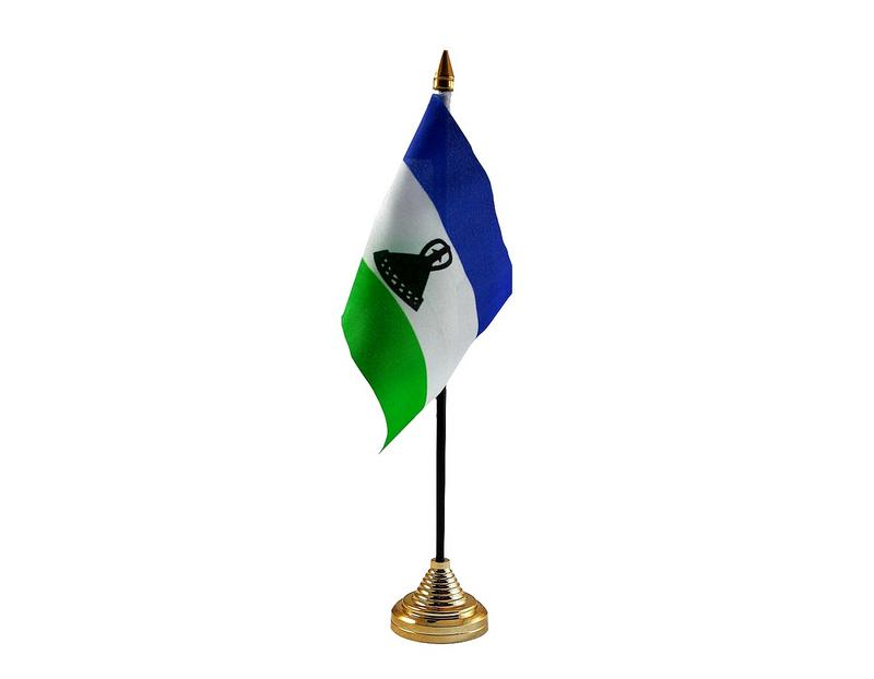 Lesotho New Hand Table or Waving Flag Country