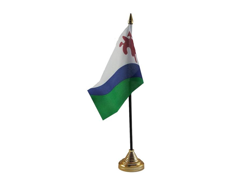 Lesotho Old Hand Table or Waving Flag