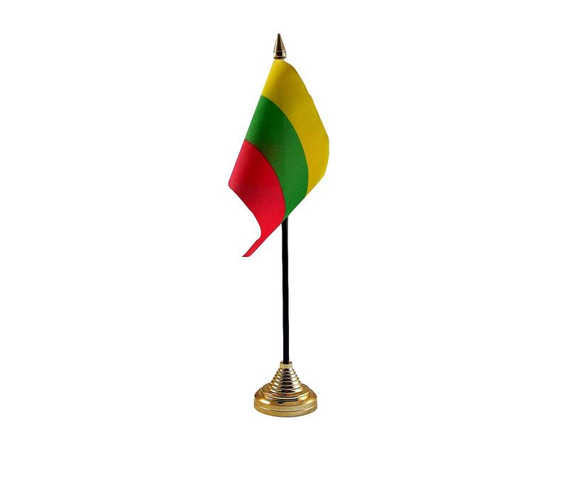 Lithuania Hand Table or Waving Flag Country Lithuanian
