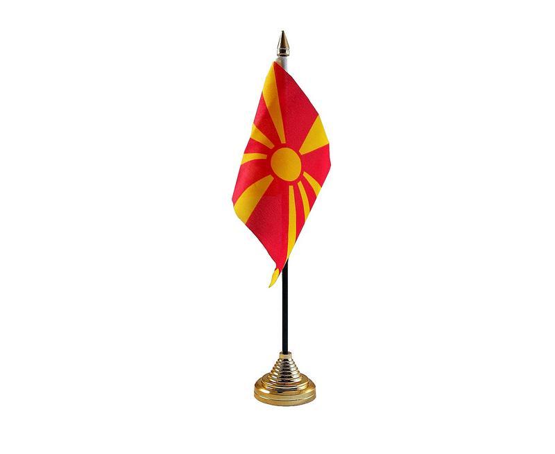 Macedonia Hand Table or Waving Flag Country