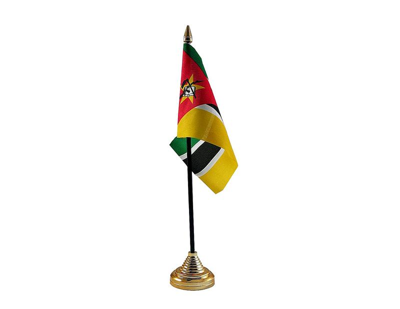 Mozambique Hand Table or Waving Flag Country