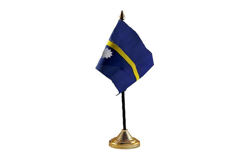 Nauru Hand Table or Waving Flag Country