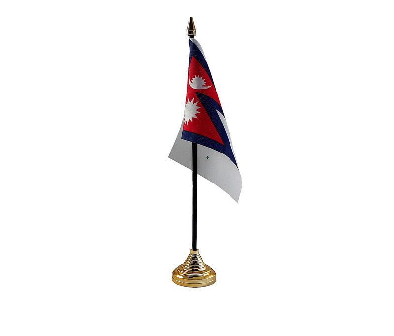 Nepal Hand Table or Waving Flag Country